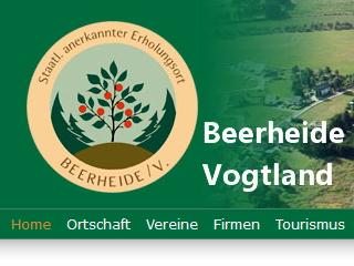 Unser Heimatort – Beerheide im Vogtland stellt sich vor.
