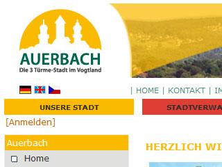 Auerbach – die 3-Türme-Stadt im Vogtland
