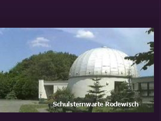 Das Auge ins Weltall – die Schulsternwarte Rodewisch
